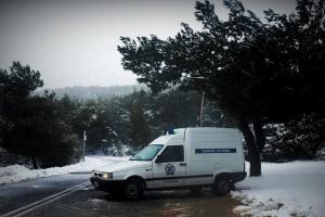 Αίγιο: Έρευνα για τον θάνατο της ηλικιωμένης που βρέθηκε νεκρή στο χιόνι