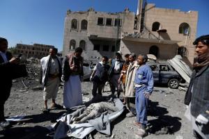 Υεμένη: Νεκροί 136 άμαχοι σε 10 μέρες από αεροπορικές επιδρομές
