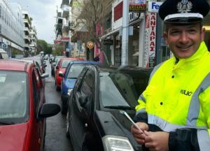 Χανιά: Αλκοτέστ μιας χρήσης μοίρασε στους οδηγούς η τροχαία