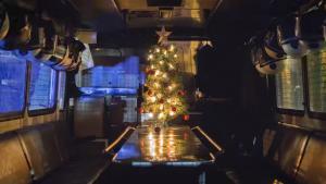 Πρωτοχρονιάτικο βίντεο από την ΕΛΑΣ – Έβαλαν Χριστουγεννιάτικο δέντρο σε… κλούβα [vid]