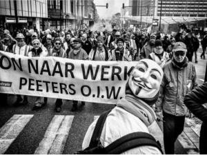 Μεγάλη διαδήλωση στις Βρυξέλλες για το συνταξιοδοτικό σύστημα!