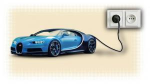 Δείτε πως η Bugatti Chiron δίνει ρεύμα σε νοικοκυριά!