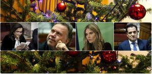 Αξέχαστα Χριστούγεννα πολιτικών! Εξορίες, ασφαλιστικό και… Disney!