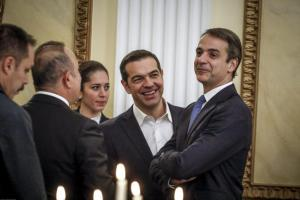 Επίσκεψη Ερντογάν στην Ελλάδα: Εικόνες από το δείπνο στο Προεδρικό Μέγαρο [pics]