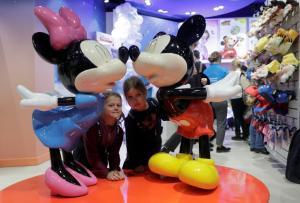 H Disney ανοίγει ένα μοναδικό κατάστημα στη Μόσχα