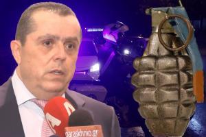 """Νίκος Καραμανλής: Εγώ βρήκα τη χειροβομβίδα στο σπίτι μου – Τι λέει ο εκδότης, τι """"βλέπει"""" η αστυνομία"""