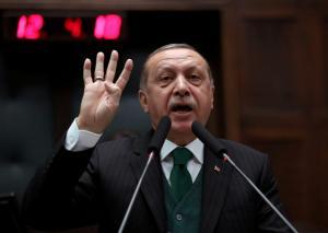 Οργή Ερντογάν κατά του υπεξ των ΗΑΕ – «Είσαι θρασύς άντρας!»