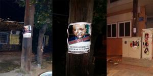 Κομοτηνή: Αυτή είναι η αφίσα κατά του «ανεπιθύμητου» Ερντογάν