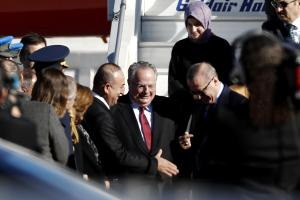 Το αστειάκι του Ερντογάν στο Νίκο Κοτζιά για την γραβάτα που φορούσε