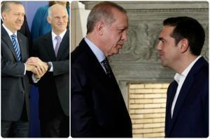 Ερντογάν με ΠΑΣΟΚ – Ερντογάν με ΣΥΡΙΖΑ! [pics]