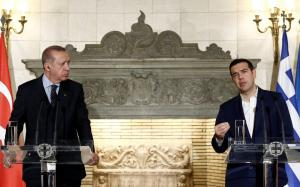 """Τζανακόπουλος για Ερντογάν: """"Οι κυβερνήσεις δεν είναι για να ανταλλάσουν φιλοφρονήσεις"""""""