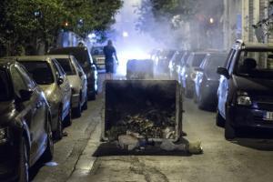Εκρηκτική νύχτα στα Εξάρχεια χωρίς τραυματισμούς και προσαγωγές