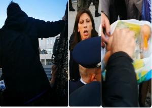 Πλειστηριασμοί: Διώχνουν συμβολαιογράφους! «Είσαι ένα κοράκι»! [vids, pics]