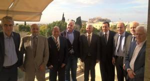 Συνάντηση Φλαμπουράρη με Άραβες επιχειρηματίες