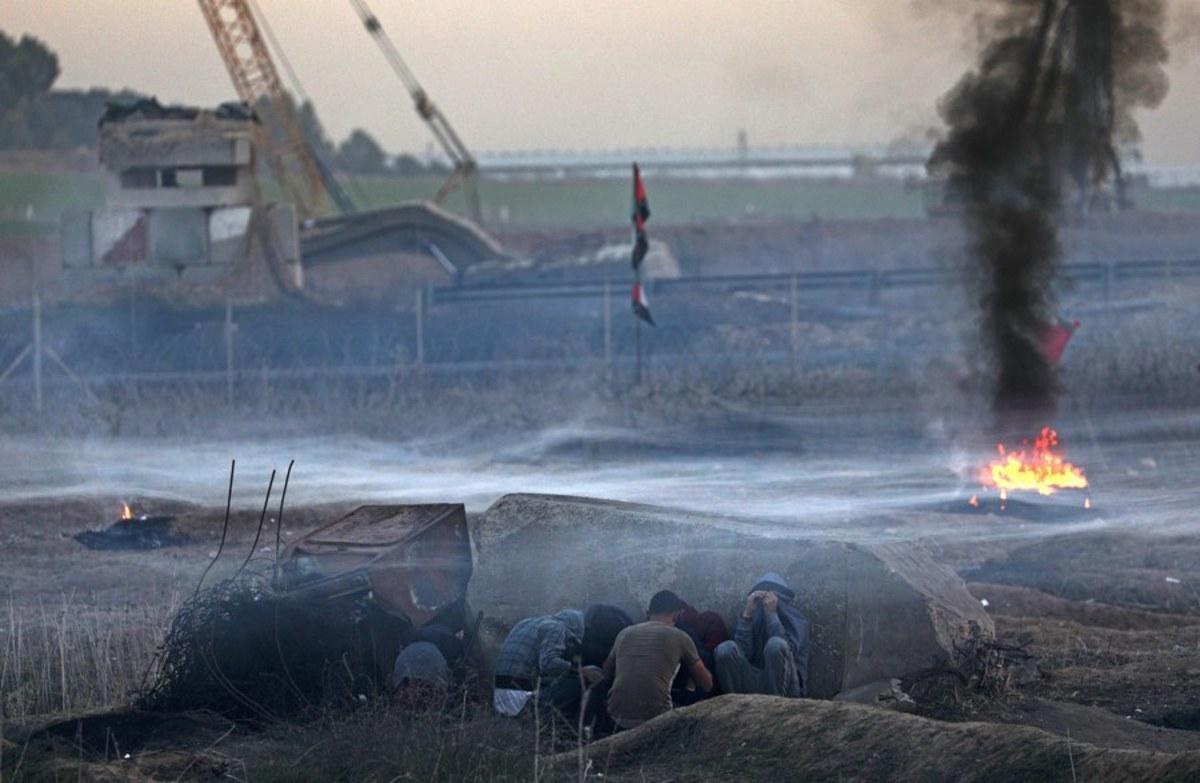 gaza2 - Κόλαση πυρός στη Γάζα! Ρουκέτες και βομβαρδισμοί από τους Ισραηλινούς
