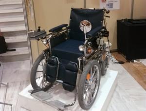 Ανακατασκευάστηκε ηλεκτροκίνητο αναπηρικό αμαξίδιο του 1965 [pic]