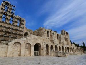 Το Ηρώδειο χωρίς σκαλωσιές! – Δείτε πως αποκαταστάθηκε ο δυτικός μετωπικός τοίχος