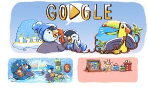 Καλές γιορτές από την Google: Το εορταστικό Doodle