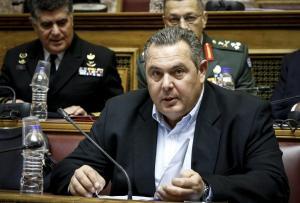 Καμμένος: Δεν δέχομαι τον όρο Μακεδονία – Σύγκληση Συμβουλίου Πολιτικών Αρχηγών αν χρειαστεί