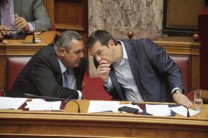 """""""Ποδαρικό"""" με… Σκοπιανό για την κυβέρνηση! Συνάντηση Τσίπρα – Καμμένου μετά τις γιορτές"""