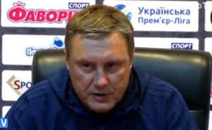 Ντιναμό Κιέβου, Χάρκεβιτς: «Καλή ομάδα η ΑΕΚ»