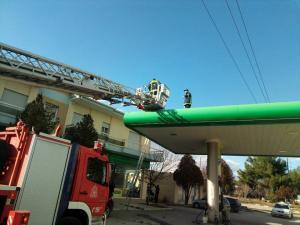 Κοζάνη: Σοβαρό ατύχημα σε πρατήριο – Τον χτύπησε το ρεύμα