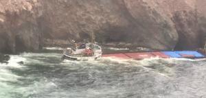 Μύκονος: Καρέ – καρέ η επιχείρηση απεγκλωβισμού των ναυτικών του «LITTLE SEYMA»