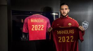 Επίσημο! Μέχρι το 2022 στη Ρόμα ο Μανωλάς