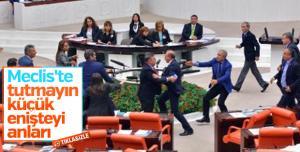 Χαμός στην τουρκική βουλή! Βουλευτές πιάστηκαν στα χέρια [vid]