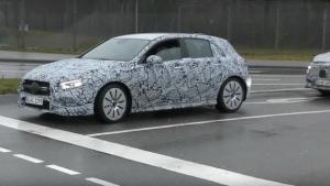 Σχεδόν έτοιμη η νέα μικρή Mercedes-AMG A 35 4MATIC [vid]
