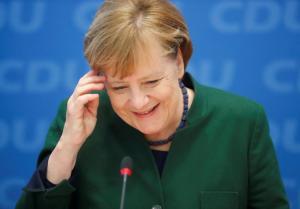 Ελπίζει η Μέρκελ: «Μπορεί να σχηματιστεί κυβέρνηση εντός τριμήνου»