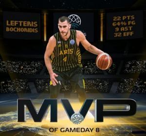 Λευτέρης Μποχωρίδης: Βγήκε από τον… πάγο κι έγινε MVP