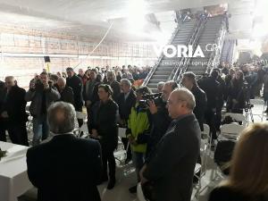 Μετρό Θεσσαλονίκης: Αγιασμός σε βάθος 30 μέτρων για την Αγία Βαρβάρα – «Μόνος αντίπαλος ο χρόνος» [vids]