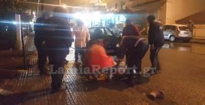 Λαμία: Αυτοκίνητο παρέσυρε μητέρα με παιδί στην αγκαλιά! [pics]