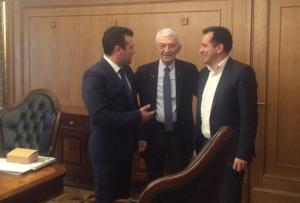 Στην Θεσσαλονίκη ο πρόεδρος της ΠΓΔΜ – Του παρέθεσε δείπνο ο Μπουτάρης [pics]
