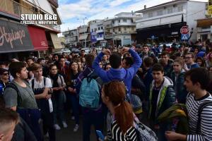 Διαμαρτυρία μαθητών Ναύπλιο [pics, vid]