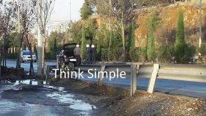 Θεσσαλονίκη: Έσωσαν παγιδευμένο οδηγό και θέλησαν να κρατήσουν την ανωνυμία τους – Αυτοψία στο σημείο [pics]