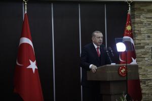 Live: Η επίσκεψη Ερντογάν στην Θράκη – Όλο το πρόγραμμα