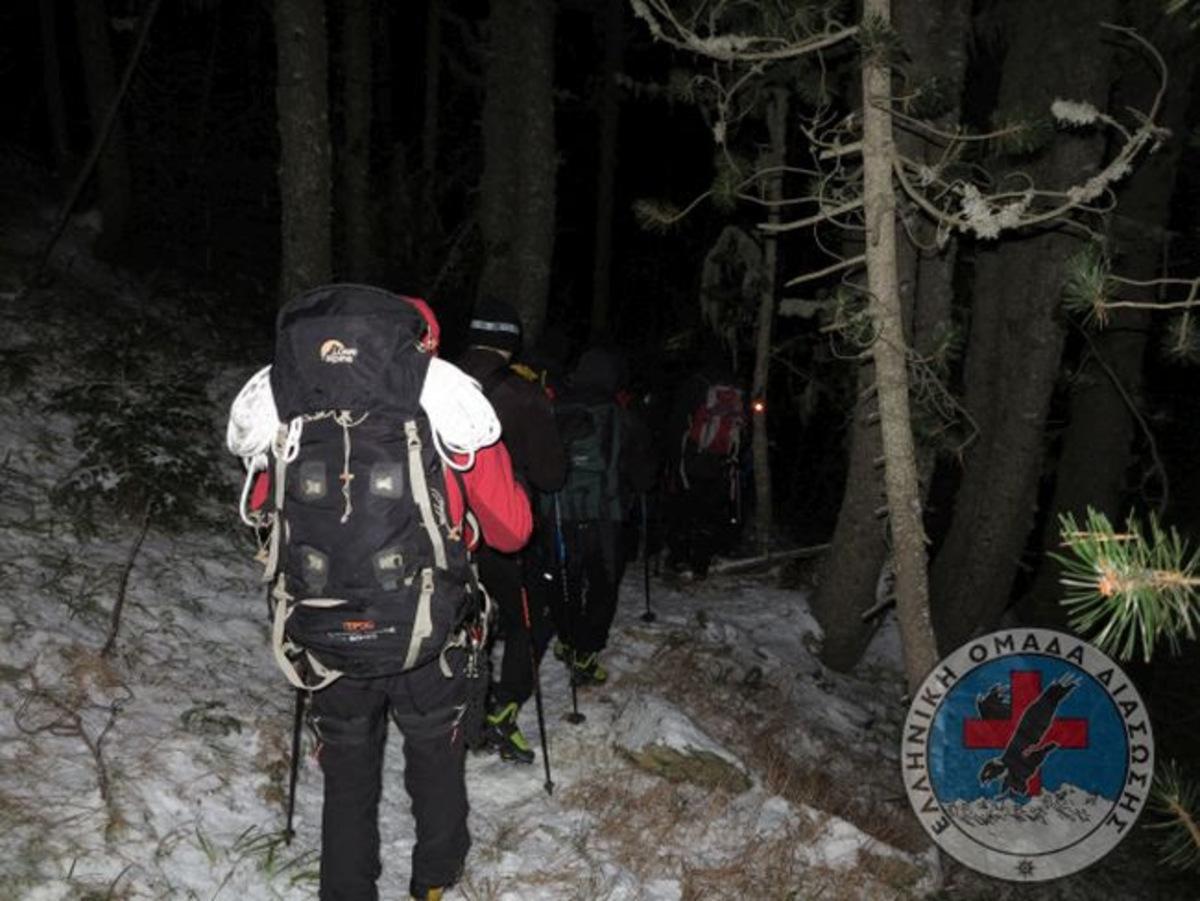 Χριστουγεννιάτικη περιπέτεια για δυο ορειβάτες στον Όλυμπο | Newsit.gr