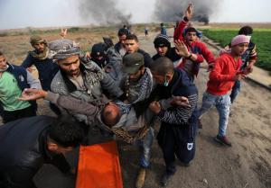 Συνεχίζονται οι σφοδρές συγκρούσεις στην Παλαιστίνη – 56 τραυματίες από πυρά Ισραηλινών