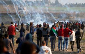 Λωρίδα της Γάζας: Δύο Παλαιστίνιοι διαδηλωτές νεκροί από πυρά Ισραηλινών [pics]