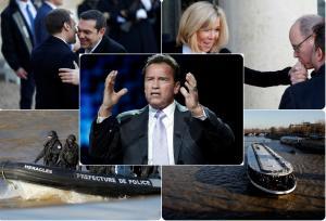 Παρίσι: Ο Μακρόν, ο Τσίπρας και η κρουαζιέρα στον Σηκουάνα! [pics]