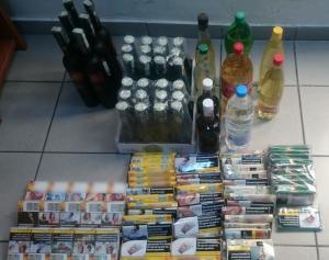 Σέρρες: Πέντε συλλήψεις για λαθρεμπόριο ποτών και τσιγάρων [pic]
