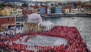 Χανιά: Αναβάλλεται λόγω καιρού το Santa Run