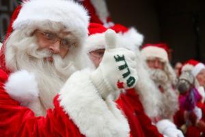 Άγιος Βασίλης – εξάχρονος σημειώσατε… εκκωφαντικό διπλό! [pic]