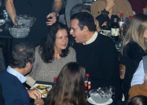 Σταμάτης Σπανουδάκης: Σπάνια έξοδος με την σύζυγό του [pics]