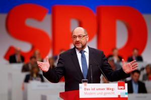Αυλαία για το συνέδριο του SPD – Αποφασίζουν για τη Μέρκελ – Περιμένει… καβγάδες ο Σουλτς