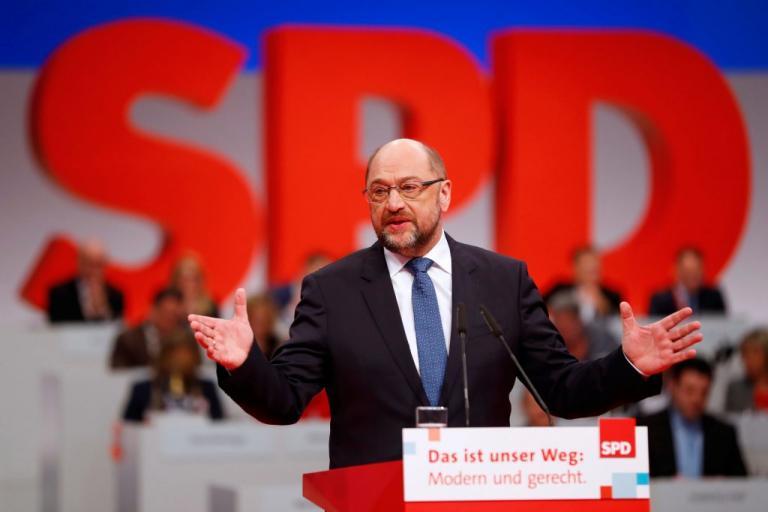 Αυλαία για το συνέδριο του SPD – Αποφασίζουν για τη Μέρκελ – Περιμένει… καβγάδες ο Σουλτς   Newsit.gr
