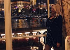 Κωνσταντίνα Σπυροπούλου: Ταξίδεψε στο Las Vegas και συνάντησε την… Lady Gaga! [pics,vid]