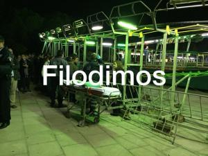Αίγιο: Συλλήψεις για το τρενάκι του τρόμου – Εκτροχιάστηκε το τελευταίο βαγόνι – Στο νοσοκομείο μάνα με 3 ανήλικα παιδιά [pics]